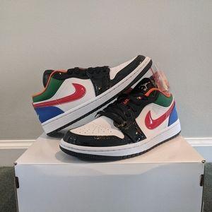 Air Jordan 1 low multi color